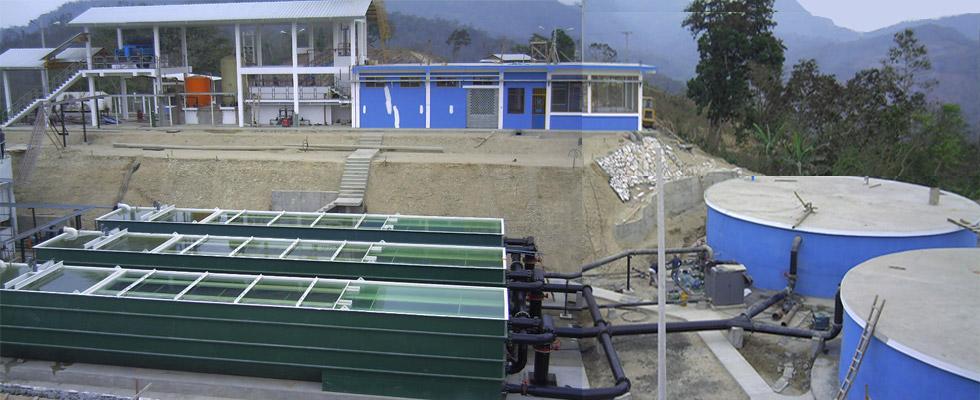 El proyecto comprende la construcción de una planta de tratamiento modular de agua potable, edificio de químicos, casetas de generación eléctrica automatizadas, estaciones de bombeo automatizadas...